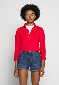 Polo Ralph Lauren - HEIDI LONG SLEEVE - Button-down blouse - african red