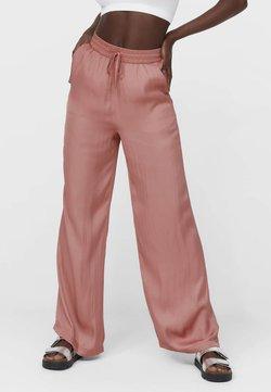 Stradivarius - Pantaloni - light pink