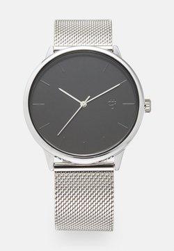 CHPO - NANDO UNISEX - Klocka - black/silver-coloured