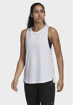 adidas Performance - OWN THE RUN TANK TOP - Top - white