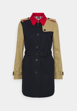 Tommy Hilfiger - TRENCH - Trench - desert sky/primary red/camel