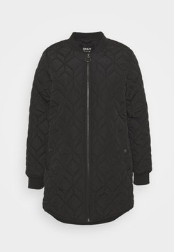 ONLY Petite - ONLALLISON QUILTED LONG - Abrigo corto - black