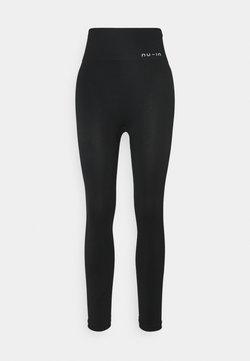 NU-IN - HIGH WAIST SEAMLESS LEGGINGS - Legging - black