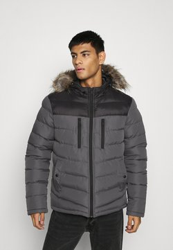Brave Soul - INVERNESS - Winterjacke - black/grey