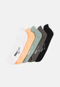 ONLY Play - ONPTRAINING SOCKS 5 PACK - Sportsocken - black/white/lgm/gray mist/neo