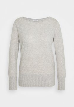 Club Monaco - ESSENTIAL OPEN  - Jumper - light heather grey