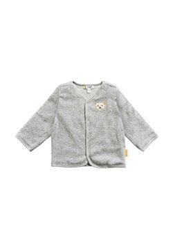 Steiff Collection - DRUCKKNÖPFEN - Strickjacke - soft grey melange