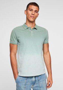 s.Oliver - Poloshirt - light green stripes