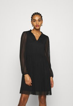 ONLY - ONLNALLIE DRESS - Sukienka koktajlowa - black