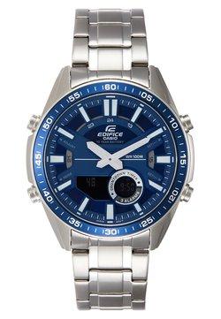 EDIFICE - Montre à aiguilles - silver-coloured/blue