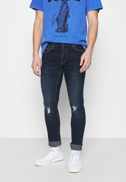 Only & Sons - ONSLOOM S DAMAGE  - Jean slim - blue denim