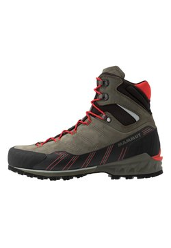 Mammut - KENTO GUIDE HIGH  - Mountain shoes - tin/spicy