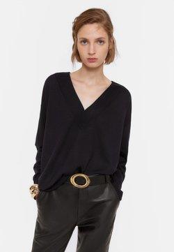 Uterqüe - Sweter - black