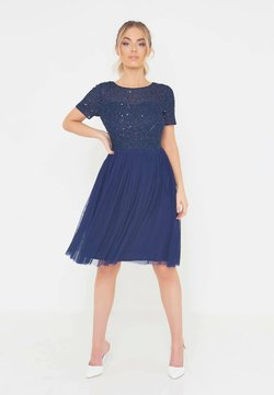 BEAUUT - Cocktailkleid/festliches Kleid - navy