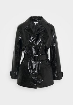 Topshop - DOLLY SHACKET - Trench - black