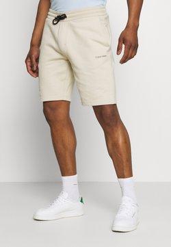 Calvin Klein - SMALL LOGO - Shorts - beige