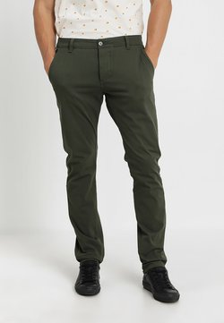 DOCKERS - SMART SUPREME FLEX SKINNY - Chinot - deep depths