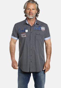 Jan Vanderstorm - AJULE - Hemd - dunkelblau kariert
