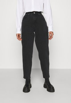 Cotton On - SLOUCH MOM - Jeans Relaxed Fit - midnight black