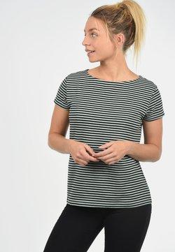 JDY - AVA - T-Shirt print - gray mist