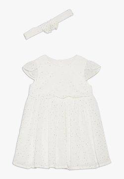 mothercare - BABY STAR DESS SET - Vestido de cóctel - white