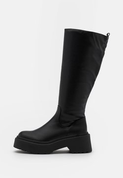 4th & Reckless - EVIE - Plateaustiefel - black