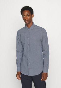 Tommy Hilfiger Tailored - MICRO PRINT CLASSIC SLIM - Zakelijk overhemd - blue