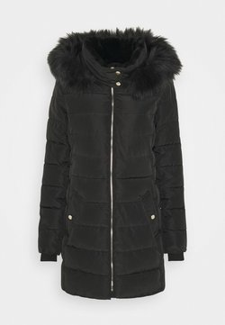 ONLY Tall - ONLCAMILLA QUILTED COAT - Wintermantel - black