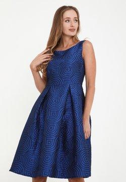 Madam-T - ANIKA - Freizeitkleid - kornblume blau
