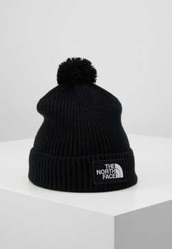 The North Face - LOGO BOX POM - Mütze - black