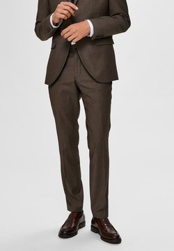 Selected Homme - SLIM FIT - Anzughose - camel