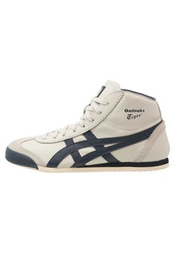 Onitsuka Tiger - MEXICO MID RUNNER UNISEX - Sneaker high - birch/indian ink