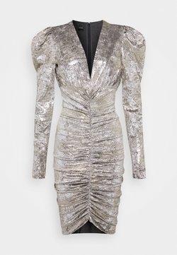 Pinko - CICLONE DRESS - Cocktailkleid/festliches Kleid - grigio/oro