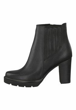 Marco Tozzi - CHELSEA BOOT - High Heel Stiefelette - black antic