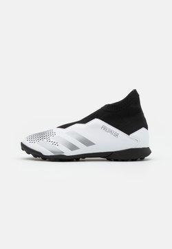 adidas Performance - PREDATOR 20.3 FOOTBALL BOOTS TURF UNISEX - Fußballschuh Multinocken - footwear white/silver metallic/core black