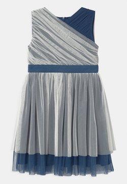 Anaya with love - CONTRAST WITH WAISTBAND - Cocktailkleid/festliches Kleid - ivory/indigo