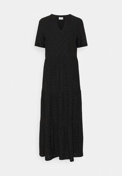 Vila - VIKAWA ANCLE DRESS - Maxikleid - black