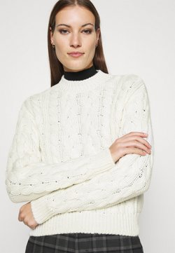 Zign - CABLE JUMPER - Trui - off white