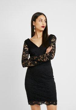 Vero Moda Tall - VMDORA SHORT DRESS - Sukienka etui - black