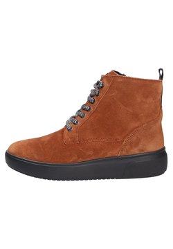 Waldläufer - Ankle Boot - cognaclsschwarz