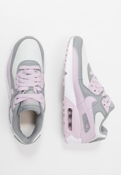 Nike Sportswear - AIR MAX 90 LTR - Sneakers laag - particle grey/iced lilac/photon dust/white