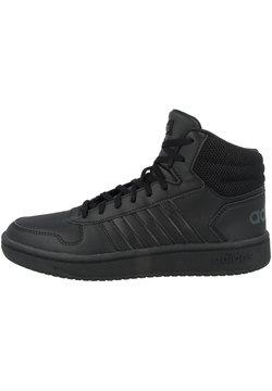 adidas Performance - HOOPS MID - Indoorskor - core black-core black-grey six