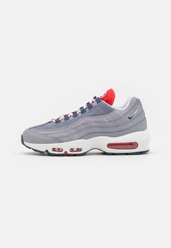Nike Sportswear - AIR MAX 95 - Sneakers laag - cement grey/thunder blue/chile red/summit white/white