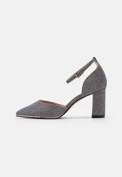 Dorothy Perkins Wide Fit - WIDE FIT EVOKE - Classic heels - silver