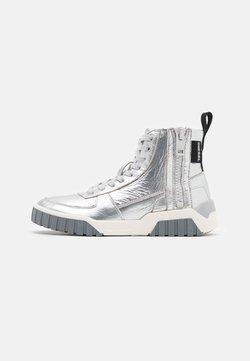Diesel - LE RUA S-RUA MC W SNEAKERS - Sneaker high - silver metallic