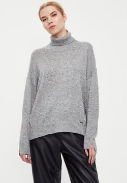 Finn Flare - Strickpullover - light grey