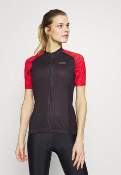 Gore Wear - GORE® C3 DAMEN ONDASIA - T-Shirt print - black/hibiscus pink