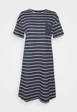 Marks & Spencer London - STRIPE  - Nachthemd - navy