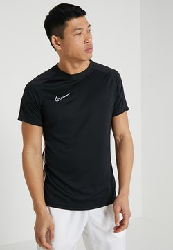 Nike Performance - DRY ACADEMY - T-shirt med print - black/white