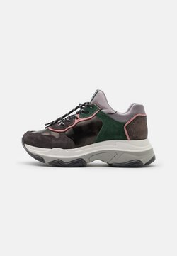 Bronx - BAISLEY - Sneakers laag - asphalt/gunmetal/pink